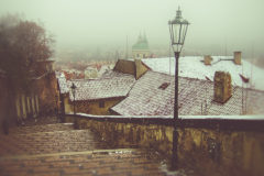 ©2005 Mike Temple Photography | Prague in the snow