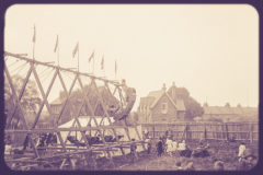 ©2018 Mike Temple Vintage Photography | Fairground swing boats